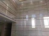 Lastra di marmo venata legno grigio Polished naturale, mattonelle di marmo di Serpeggiante