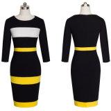 Sleeveless Büro-Kleid Bodycon Kleid-Nizza Büro-Dame Working Dress