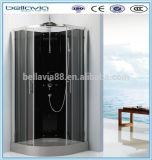 Armario de baño de aluminio de 4/5 mm de cristal, 8641bbathroom ducha redonda armario/ducha/aseo con ducha