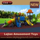 École Outdoor Plastic Playground Balançoire avec glissière (X1508-10)