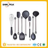 6 & 8 штук Super прочный набор кухонной утвари и Memory Stick™ силикон советы, кастрюли и сковородки, кухонные принадлежности, Leeseph