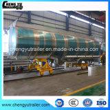 새로운 3 차축 46cbm 46000L 강철 알루미늄 기름 연료 탱크 트레일러