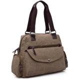 デザイナーキャンバスのメッセンジャーの女性のハンド・バッグのおむつ袋