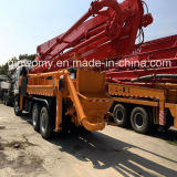 Schewing Bomba de concreto con la carretilla a la venta (37m-45m)