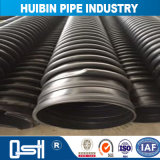 長い耐用年数のHDPEは下水のための溶接された増強された管をより合わせた