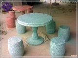 磨かれたの庭のための花こう岩の家具