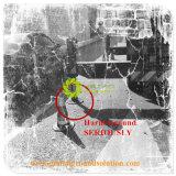 De anti Kleur van de Grootte van het Effect kan Douane/de Speciale HDPE van de Orde zijn Harde Stootkussens van de Kraanbalk van de Kraan
