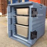 60L LLDPEのプラスチックファースト・フードの輸送用コンテナ、モーターバイク配達ボックス