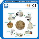 Máquina de pellets de alimentación acuática de peces, Molino de pellets de alimentación de camarones