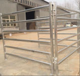 Los paneles de las ovejas de la cerca/de la cabra del prado del caballo de Australia 6rails/los paneles del ganado