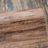 暗い色の木製の穀物の質失敗PVCスポンジ袋の革
