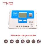 Contrôleurs de charge manuel PWM 20A Contrôleur solaire 12V