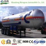 Semi Aanhangwagen van de Tanker van 59.71 Cbm LPG van Shengrun ASME de Standaard