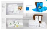 ホテルのレストランのための100%年の綿表面および手タオル