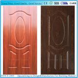 티크 또는 어두운 호두 또는 Wenge 색깔 멜라민 직면된 형 문 피부