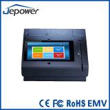 Construido en la impresora térmica de 58mm Touchscren POS tarjeta financiera del sistema Android