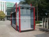 Cabina de aluminio del quiosco de periódico para la publicidad al aire libre (HS-001)