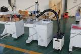 etiqueta de plástico/grabado del laser de la fibra 20With30With50W para el precio de la placa de identificación del metal/de los componentes electrónicos