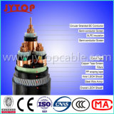 중간 Voltage 11kv Cable, 3 Core Cable, Armoured Cable