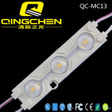 Módulo impermeable de la muestra del brillo 5050 LED de DC12V 0.96W 4chips ultra