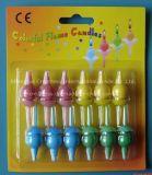 Neues Art-China-Berufserzeugnis-herrliche elegante purpurrote Flamme-Kerzen