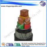Cabo da energia eléctrica do condutor do cobre da baixa tensão