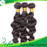 7 A Pure Hand-Made, 100% da peruca de cabelo humano brasileira