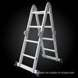Китай консистентной смазкой на заводе Складной алюминиевый совместных лестницы с конкурентоспособной цене