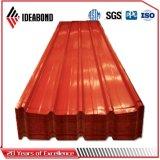 De PVDF Ideabond Bobina de alumínio revestido de cor