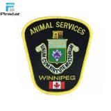 Le Canada d'animaux patch broderie bon marché de service