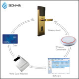TCP/IP Internet Support de serrure de porte de l'hôtel Wechat déverrouiller
