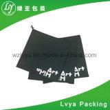 Organici stampati Digitahi su ordinazione riciclano il piccolo sacchetto di Drawstring nero della tela di canapa del cotone