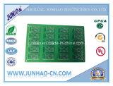 Carte rigide de jouet double face de carte de vert de la carte à circuit imprimé Fr4