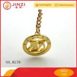 Marchio decorativo del metallo dell'oro operato per gli accessori del hardware della borsa