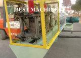 機械を形作るロールを作る鋼鉄プロフィールの底面のローラーのドア