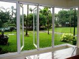 Prezzo poco costoso della finestra di alluminio della stoffa per tendine
