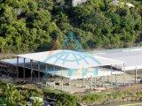 Proyecto de estructura de acero prefabricada en centro logístico
