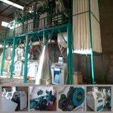 アルジェリア(50t)で動作する熱い販売の小麦粉の製造所のフライス盤