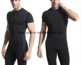 Desportos de manga curta masculino T Shirt Odor Avançada Livre exercício Quick Dry ete para executar o ginásio10467 ESG