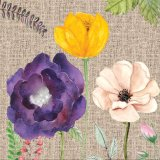 꽃 화포 인쇄를 위한 아름다운 거는 가정 훈장