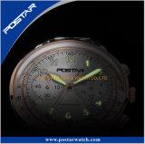 Orologio multifunzionale luminoso eccellente di Sun di alta qualità del cronografo