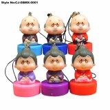 형식 귀여운 PVC Granpa Granma 장난감 인형