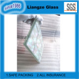 Кристаллический прокатанное стекло с раковиной моря