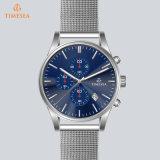 OEM Horloge 72050 van de Waterdichte van het Roestvrij staal van het Kwarts Mensen van het Polshorloge