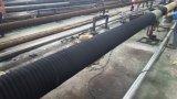 Resíduos de esgotos do tubo de borracha de aspiração