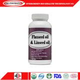 Commerce de gros de l'huile de lin en vrac organiques Softgel Capsule