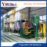 BV refinaria de óleo vegetal de certificado para a linha de alimentação de óleo de cozinha