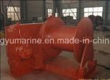 Chigre marina electrohidráulico del torno/OEM de la amarradura del paquete de potencia