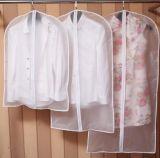 a roupa de 60*120cm cancela o saco de vestuário, roupa que Dustproof de PEVA a tampa protetora organiza o protetor do vestido de revestimento do terno do curso