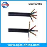 Cable eléctrico de los recambios del alzamiento de la construcción